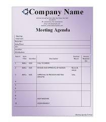 Agenda Format Sample 46 Effective Meeting Agenda Templates Template Lab