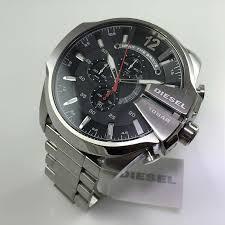 men s diesel mega chief xl chronograph oversized watch dz4308