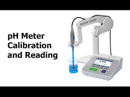 Ph Meter Calibration How To Calibrate And Use The Ph Meter Youtube