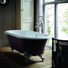 Image result for black roll top bath