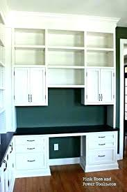 wonderful built home office. Modren Home Built In Office Cabinets Home Desk  Ideas   To Wonderful Built Home Office E