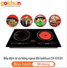 Bếp hồng ngoại - Từ đôi Goldsun CH-GYL05