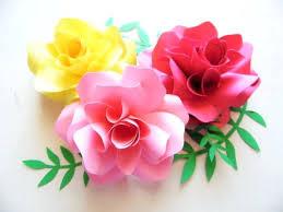 Paper Flower Pattern Impressive Diy Paper Roses Template Paper Flower Backdrop Template Paper Flower