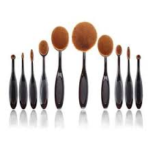 oval makeup brushes and their uses. supremely awesome oval makeup brushes (10 pcs) and their uses