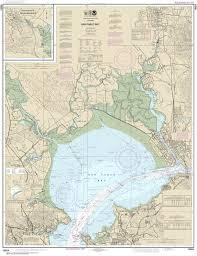 18654 San Pablo Bay Nautical Chart