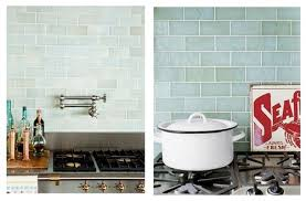 Beach Glass Tile Backsplash Flooring Sea Glass Backsplash In