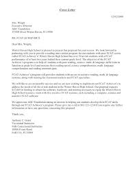 Cover Letter Proposal