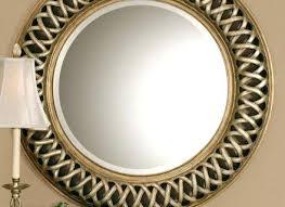 round decorative mirror wall mirrors decorative beaded edge mirror tray