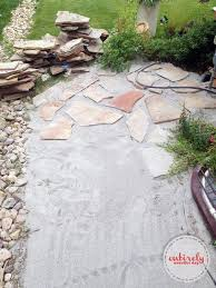 garden paths easy. how to make an easy diy flagstone garden path. click for step-by- paths easy h