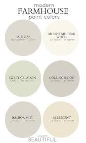 farmhouse paint colorsModern Farmhouse Neutral Paint Colors  Neutral paint colors