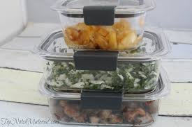 Food Storage Times Top Notch Material Rubbermaid Brilliance Makes Meal Prep And