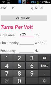 Transformer Winding Calculator Micro Digital