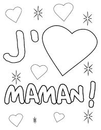 Coloriage J Aime Maman Lettre M Pinterest Maman Coloriage