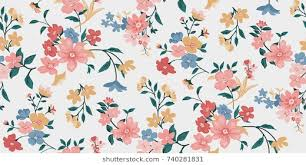 Floral Pattern Fascinating Seamless Floral Pattern Images Stock Photos Vectors Shutterstock