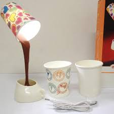 Led Table Lamp Home Creative Diy Pouring Coffee Cup Eperiodled
