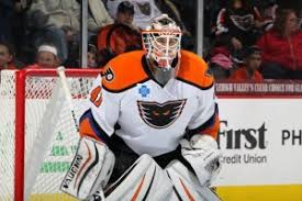 a 22 year old goaltender from edison new jersey stolarz is in his second professional season and has produced a 19 15 7 record in 42 games with lehigh