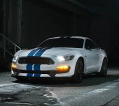 2018 ford gt350. simple 2018 2018 ford gt350 at night featuring hid headlamps for ford gt350
