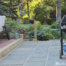 how to lay an easy diy flagstone patio