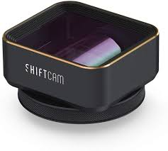 Buy ShiftCam 1.33x Anamorphic ProLens for Smartphones - Create Cinematic  Content on Your Mobile - 21:9 Widescreen Ratio and Lens Flares - for iPhone  and Android Online in Turkey. B08SVH6X9R