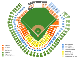 Rangers Seating Chart Globe Life Park Seating Chart And Tickets Formerly