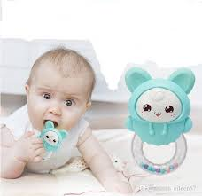 newborn infant infant bed bell 0 1 year old toy 3 6 12 month baby rotatory ring of the bedside bell