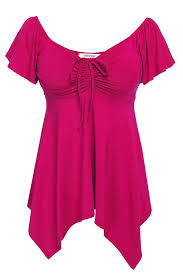 Meaneor Womens Low Cut Deep V Neck Plus Size High Low