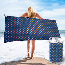 Designer Beach Towels Amazon Com Dhh166 Microfiber Beach Towel L 160x80cm