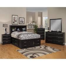 Pre Assembled Bedroom Furniture Sandberg Furniture Serenity Platform Customizable Bedroom Set