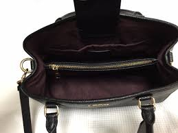 margot black leather backpack purse