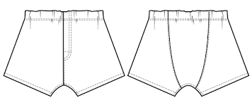Boxer Pattern Delectable Boxer Shorts Sewing Pattern Wardrobe By Me PDF Sewing Pattern