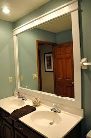 Framing A Large Mirror Mirror Framing Ideas Shopwizme