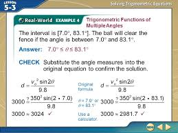 15 trigonometric functions