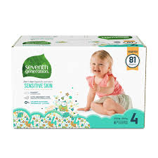 Baby Diapers Size 4 Seventh Generation