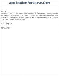 Letter Format For Vacation Leave Request Letter Format For Vacation Leave Best Of 8 Sample