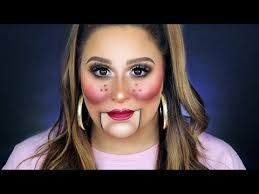ventriloquist doll makeup tutorial 31 days of