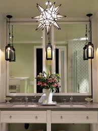 unique bathroom lighting fixtures. remarkable hanging bathroom light fixtures lights that plug in lantern lamps and mirror vase with flower sink faucet soap unique lighting g
