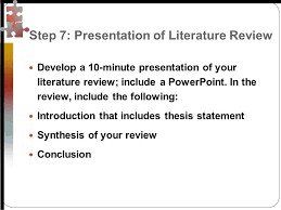 literature review conclusion example jpg SlidePlayer