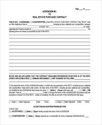blank real estate purchase agreement free 7 purchase offer form samples in pdf word