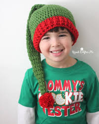 Elf Hat Pattern Awesome Crochet Elf Hat Pattern Repeat Crafter Me