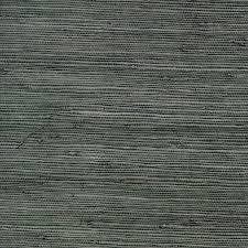 allen roth dark grey grasscloth unpasted textured wallpaper