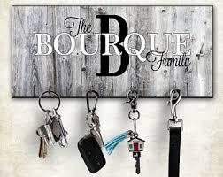 Wall Key Rack, Personalized Key Hanger, Wall Mount Key Hanger, Custom Key  Holder