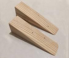 door stopper wedge. Handmade Wooden Non Slip Door Stop Wedge Stopper For Home \u0026 Office, O