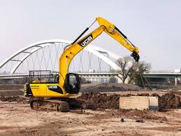 The Jcb Js220 Our New And Improved 22 Tonne Tracked Excavator