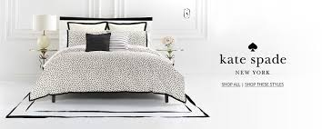 creative shot of kate spade new york bedding