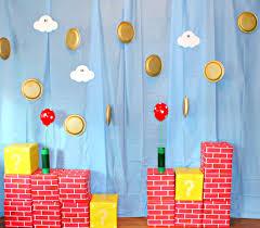 Super Mario Bros Bedroom Decor How To Plan A Super Mario Brothers Party Borealis