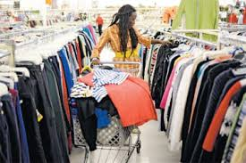 Image result for black woman thrifting