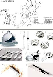 formal dining table setting. Formal Place Setting Chart :: Flatware By Christofle Knife Rests Ala Dining Table T