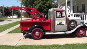1934 Chevy 1/2 Ton Pickup Wrecker - YouTube