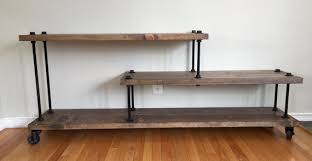 contemporary industrial furniture. industrial modern media console contemporary tv stand by urbanid furniture