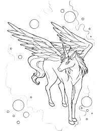 Pegasus Coloring Pages Awesome Drawing Of Coloring Page Free